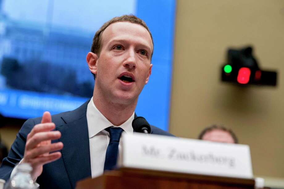 Facebook Chief Executive Mark Zuckerberg's approach to political speech has come under fire in recent weeks. Photo: Andrew Harnik / Associated Press / Copyright 2019 The Associated Press. All rights reserved.