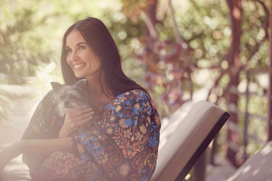 "Actress Demi Moore writes in her memoir ""Inside Out"" about the portions of her life that she once fought to protect. Photo: RAMONA ROSALES, STR / NYT / NYTNS"