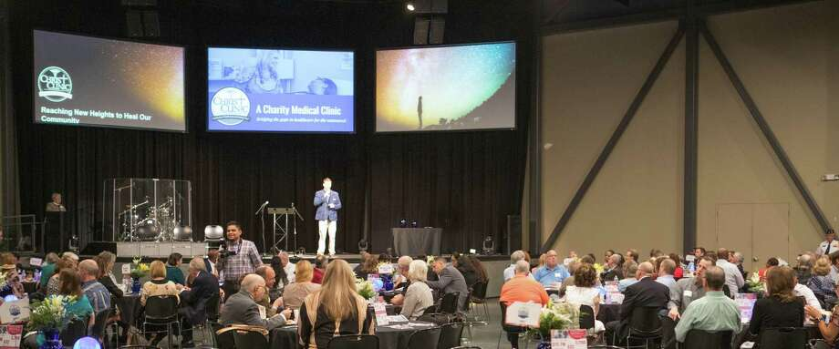 The eighth annual Breakfast for a Blessing drew about 300 people to CrossPoint Community Church on Oct. 4. The event raised about $80,000 for Christ Clinic, which serves under-insured and uninsured patients. Photo: Courtesy Christ Clinic / Courtesy Christ Clinic / Copyright - John Warner