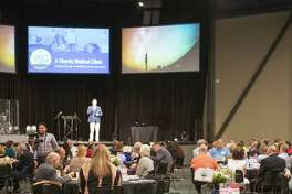 The eighth annual Breakfast for a Blessing drew about 300 people to CrossPoint Community Church on Oct. 4. The event raised about $80,000 for Christ Clinic, which serves under-insured and uninsured patients.