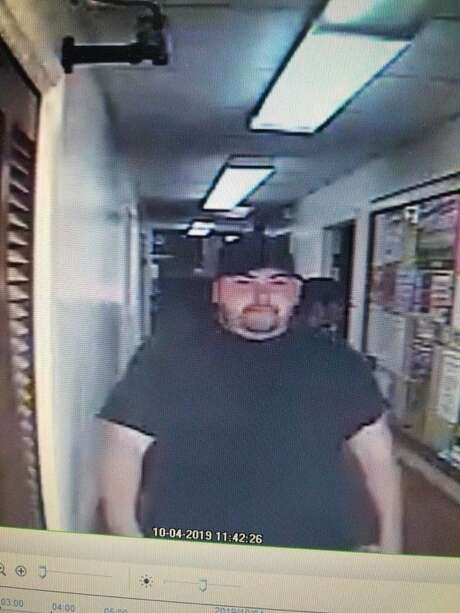Photo of Heath Bumpous who was accused of robbing the Citizens State Bank in Groveton, Texas on Friday October 4th, 2019.