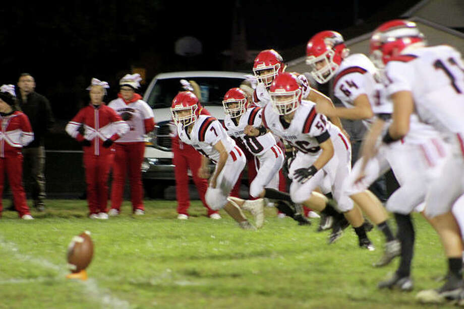 West Central versus Calhoun football Photo: Samantha McDaniel-Ogletree | Journal-Courier