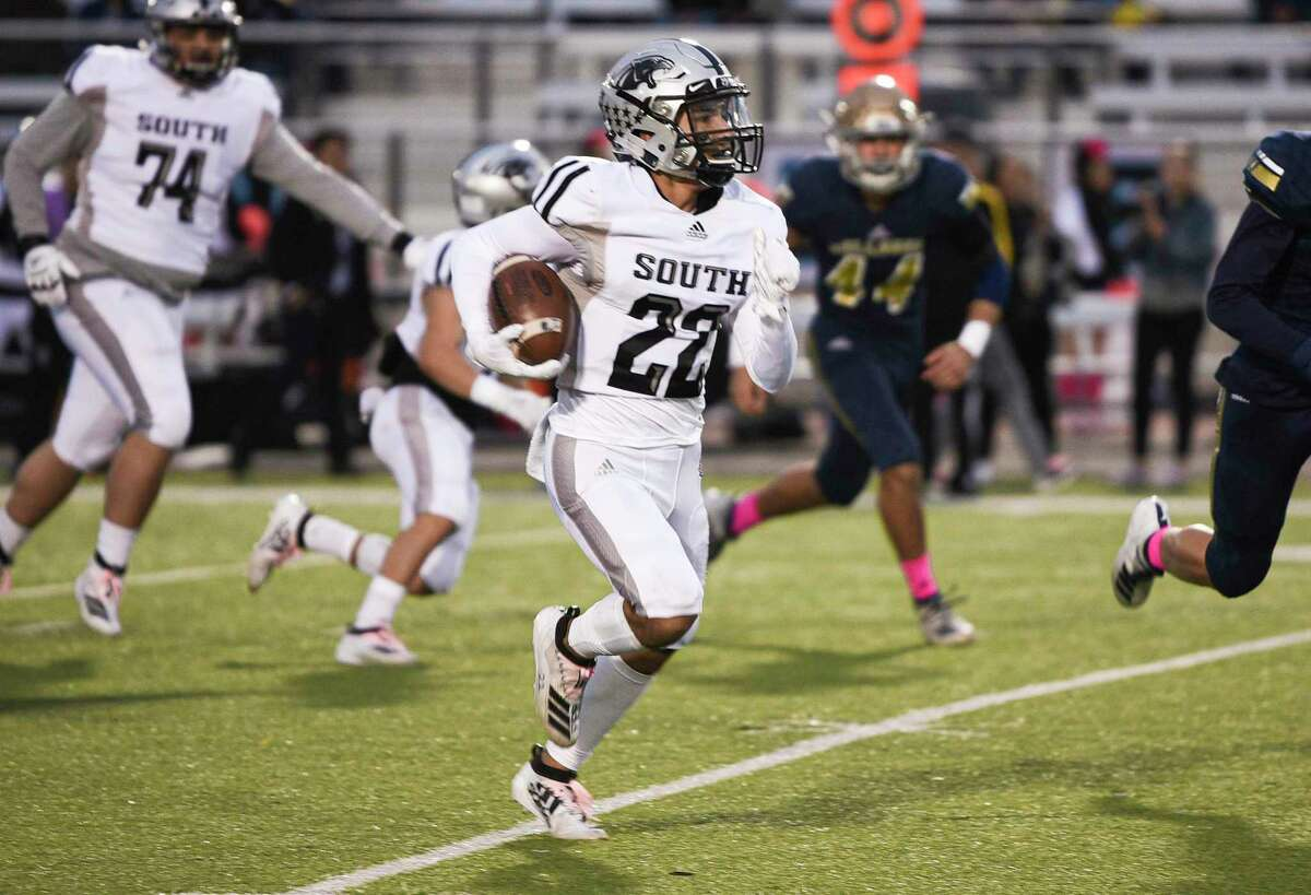 United South's Brian Benavides is a candidate for the Mr. Texas Football High School Player of the Year award as he looks to build on a junior season which featured 2,217 yards and 34 scores.