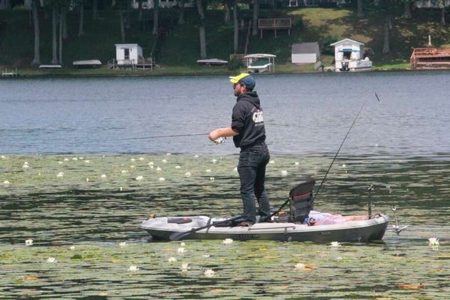 It's been a challenge recently for anglers. (Pioneer photo/John Raffel)