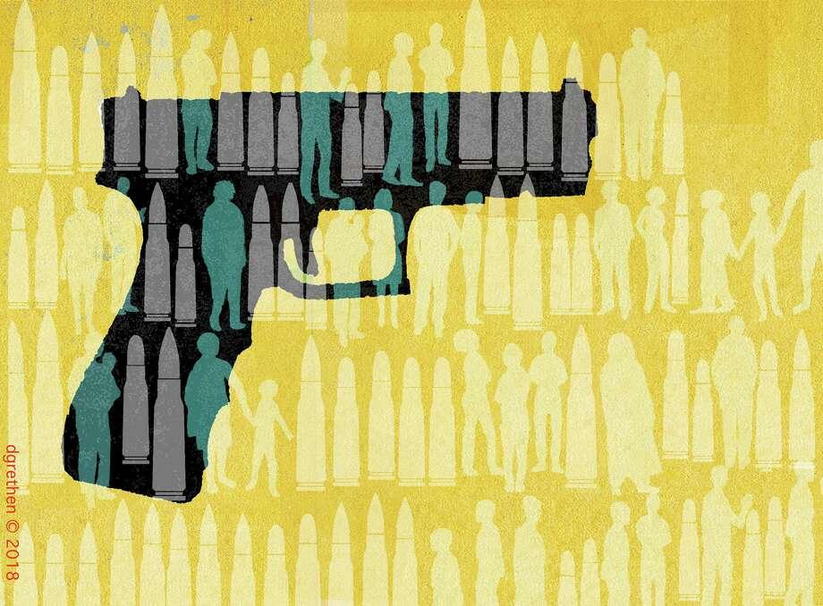 Illustration for domestic violence column Photo: Donna Grethen / Donna Grethen