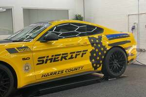 The United Kingdom paid tribute to Houston's Deputy Dhaliwal in a unique way with a bright yellow sports car designed by Raj Panesar.