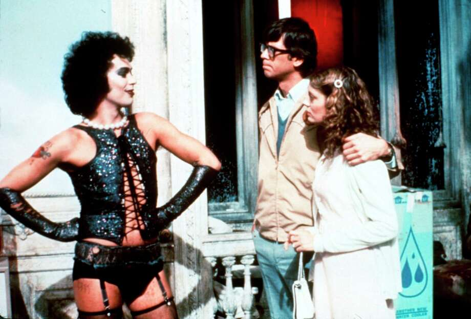 """""""The Rocky Horror Picture Show"""" will be screened at The Palace Danbury Oct. 25, The Ridgefield Playhouse Oct. 26 and Fairfield Theatre Company Oct. 28, among other theaters. Photo: 20th Century Fox / Contributed Photo / Tampa Tribune"""