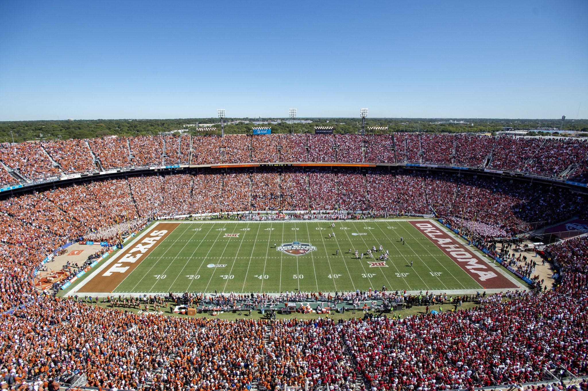 Longhorns' AD expects Texas/OU game to be played despite ...