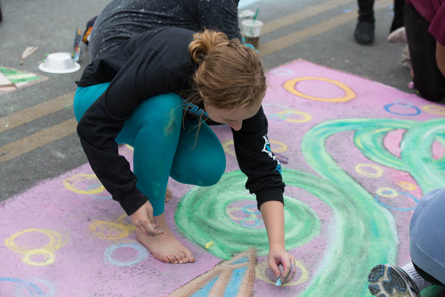 Photos: Artists of all ages came downtown for Chalk It Up