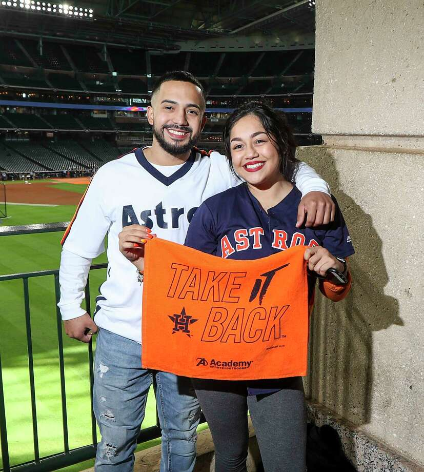 PHOTOS: Fans at Game 1 of the Astros-Yankees ALCS
