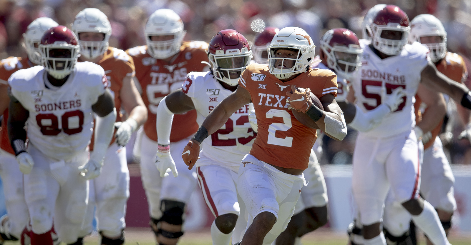 Longhorns' Roschon Johnson is just getting started