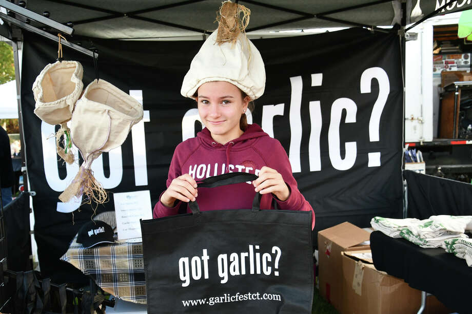 Garlic lovers attended the 15th Annual Connecticut Garlic and Harvest Festival at the Bethlehem Fairgrounds on October 12, 2019. Festival goers enjoyed garlic cooking demonstrations, live music, food vendors, samples and fall produce. Were you SEEN? Photo: Lara Green- Kazlauskas/ Hearst Media