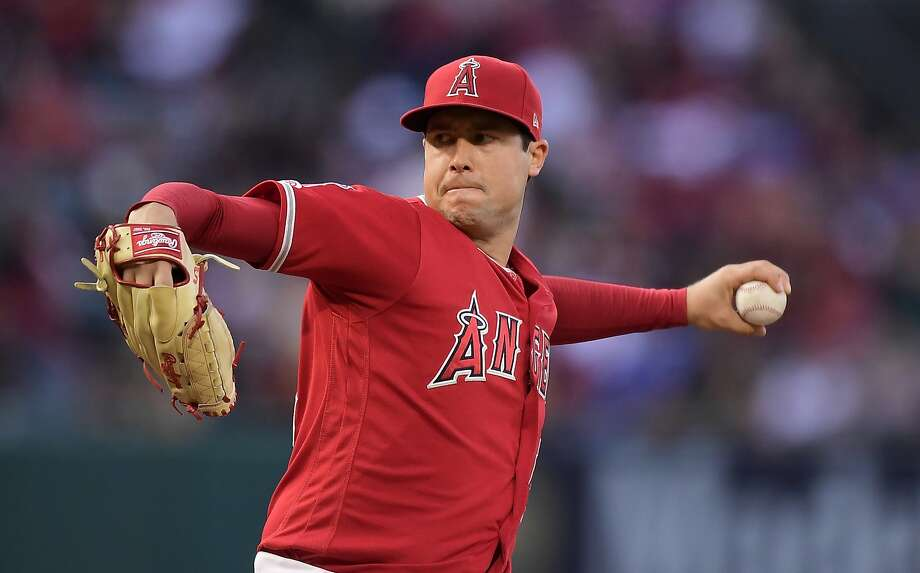 Pitcher Tyler Skaggs was found dead in a hotel room July 1. A toxic mix of alcohol and painkillers has been blamed. Photo: Mark J. Terrill / Associated Press