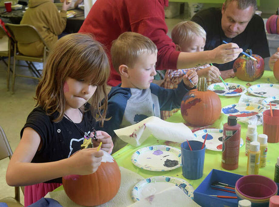 Photos from the Jacksonville Church of Christ's Fall Festival on Saturday Oct. 12. Photo: Marco Cartolano | Journal-Courier
