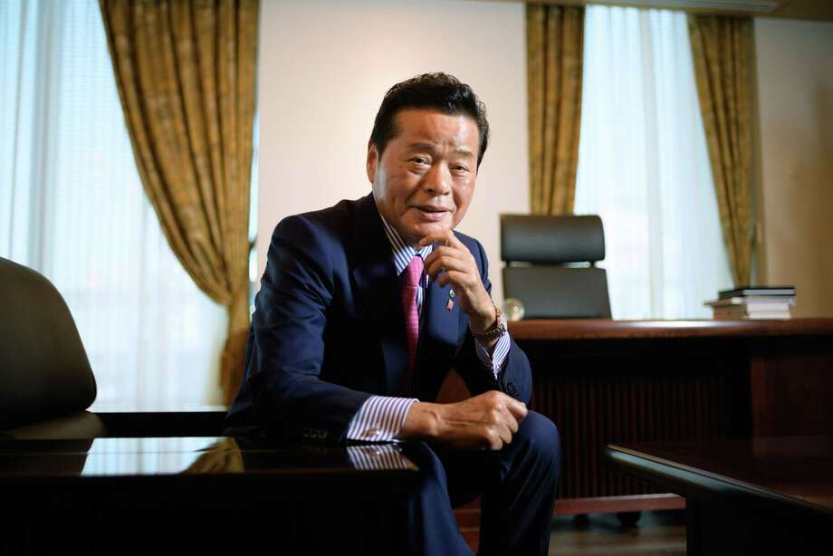 Masaru Wasami, president and chief executive officer of Maruwa Unyu Kikan Co., poses for a photograph in Tokyo, on Oct. 2, 2019. Photo: Bloomberg Photo By Akio Kon. / © 2019 Bloomberg Finance LP