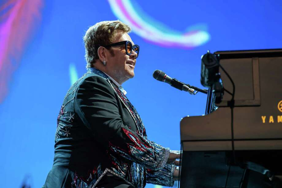 Elton John is the latest celebrity to come to Ellen DeGeneres' defense regarding her controversial friendship with George W. Bush. Photo: Stefano Dalle Luche/AGF/Shutterstock