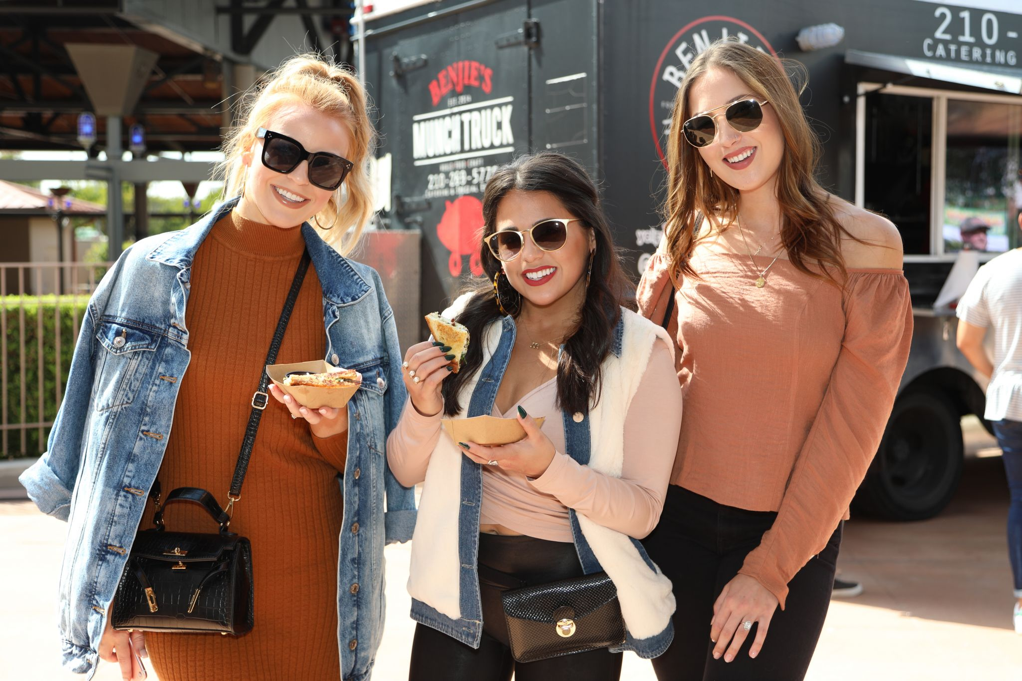 Photos: San Antonians enjoy plenty of cheesy goodness at the Grilled Cheese Fest