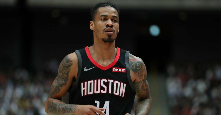 PHOTOS: Rockets vs. Raptors Gerald Green #14 of Houston Rockets looks on during the preseason game between Toronto Raptors and Houston Rockets at Saitama Super Arena on October 10, 2019 in Saitama, Japan. (Photo by Takashi Aoyama/Getty Images) Photo: Takashi Aoyama/Getty Images