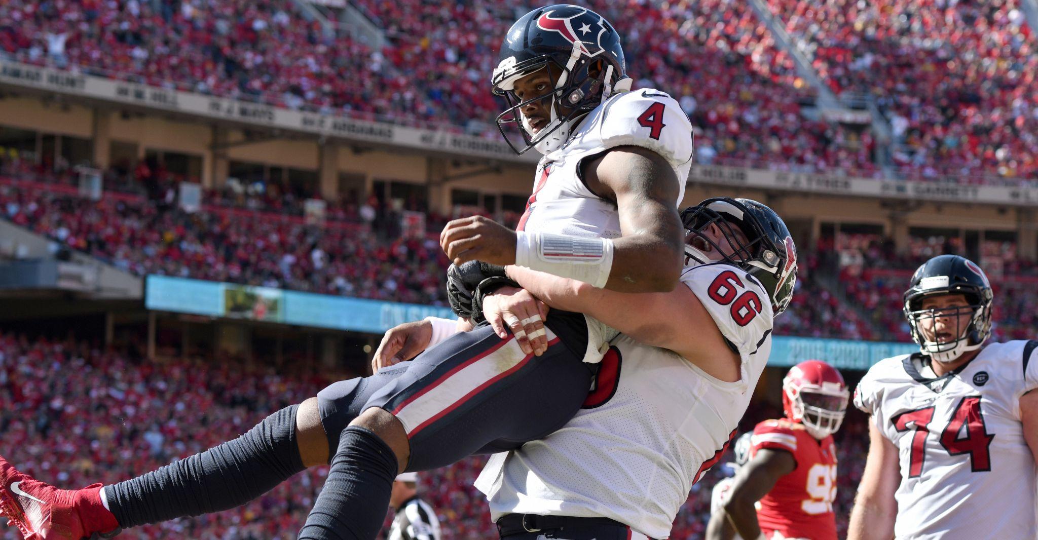 Deshaun Watson, Texans get statement win over Chiefs
