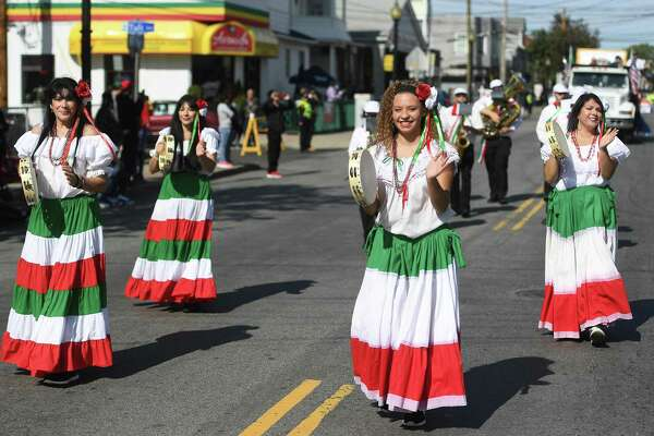 The 111th Annual Columbus Day Parade on Madison Avenue in Bridgeport, Conn. on Sunday, October 13, 2019.