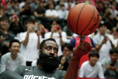 After taking a spin through Honolulu and Japan to play the Clippers and Raptors, James Harden and the Rockets are ready to focus on basketball and let the NBA deal with the fallout from Daryl Morey's tweet about Hong Kong.