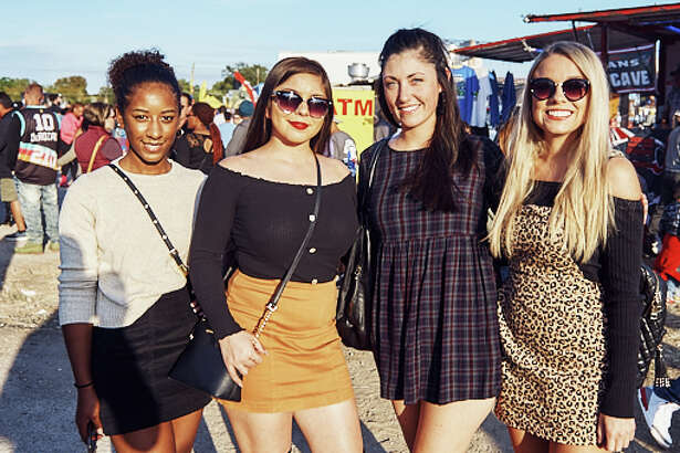 San Antonians attended Taco Truck Throwdown at Essex Modern City on Saturday, October 12, 2019.