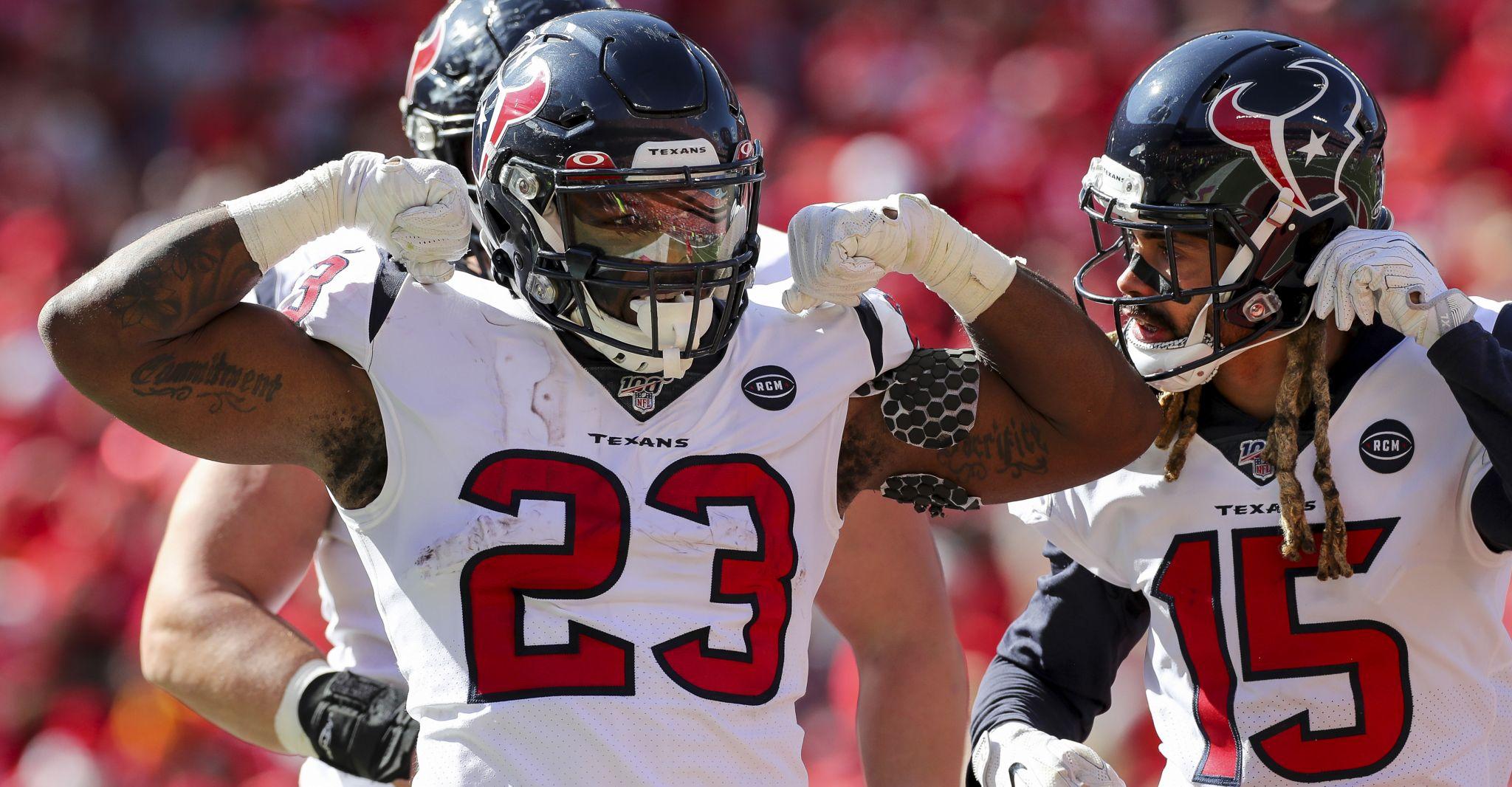 Texans-Chiefs rewind: 5 up, 5 down