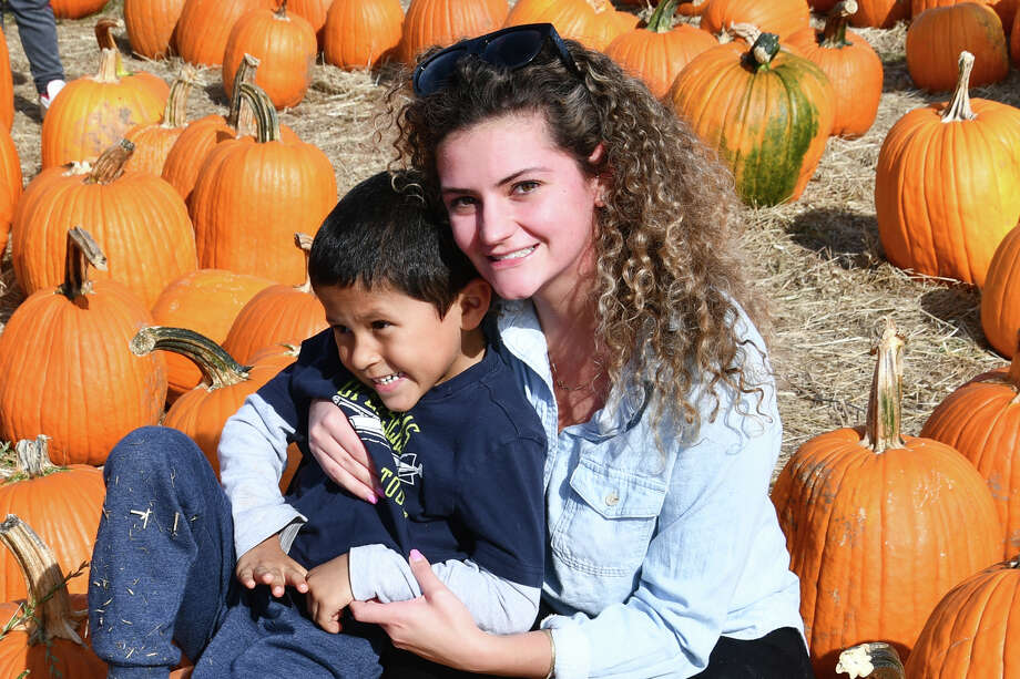 Pumpkin-picking season was in full swing on October 13, 2019. Were you SEEN at Jones Family Farm in Shelton? Photo: Lara Green- Kazlauskas/ Hearst Media