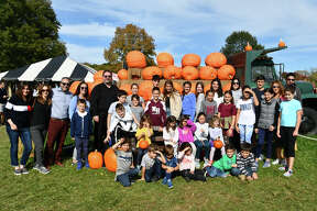 Pumpkin-picking season was in full swing on October 13, 2019. Were you SEEN at Jones Family Farm in Shelton?