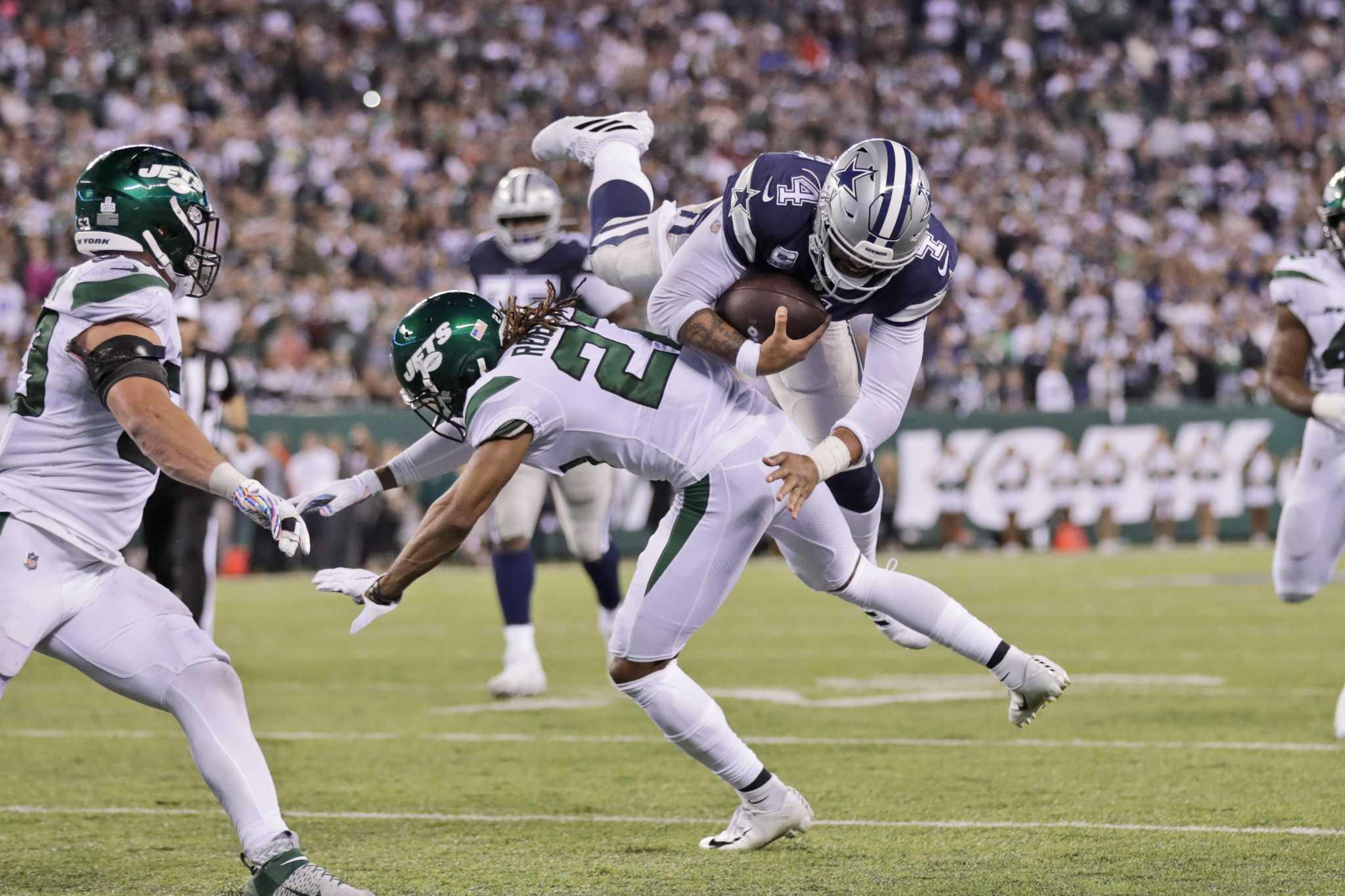 Dallas Cowboys get caught in surprising Jet stream