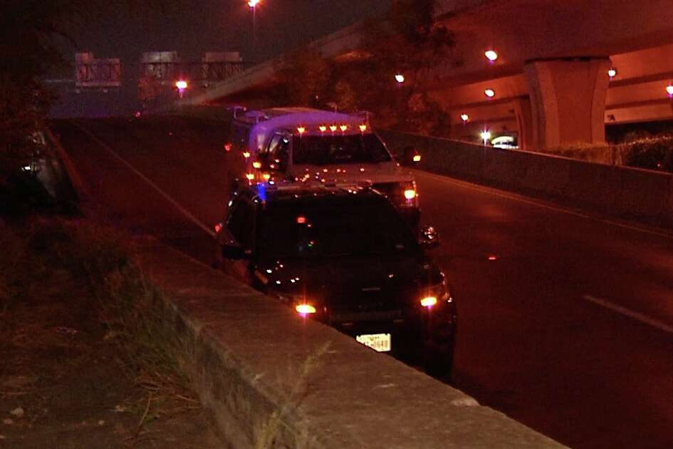 SAPD is investigating a suspicious death after a man was found on the side of I-10.