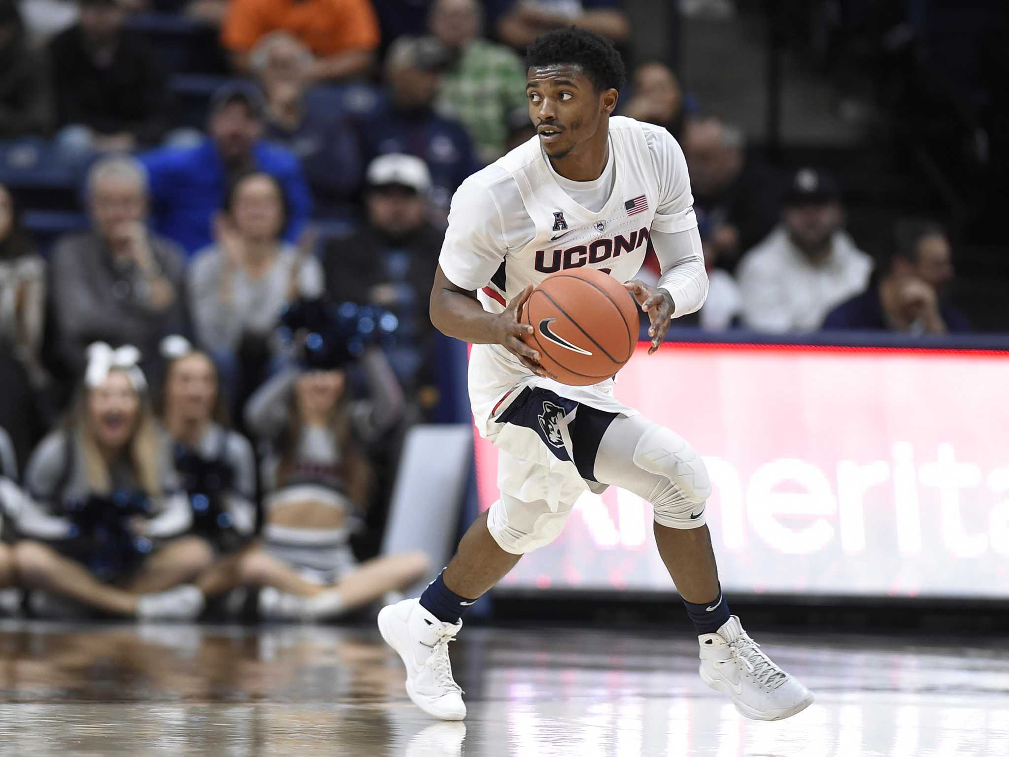 UConn picked to finish 6th in AAC; Gilbert, Vital earn 2nd team nods