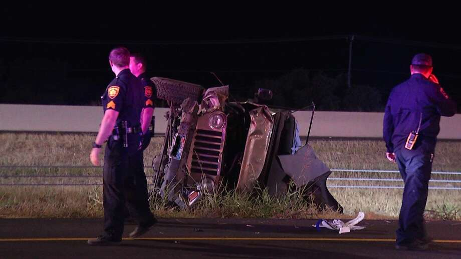 SAPD is investigating a fatal crash on the North Side. Photo: Ken Branca