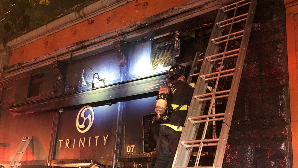 'Suspicious' fire scorches popular Pioneer Square nightclub