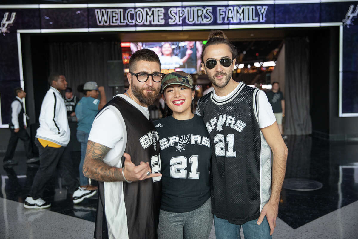 PHOTOS FROM SPURS GAME VS. NEW ORLEANS San Antonio Spurs fans watched the team's 123-114 preseason loss to Zion Williamson and the New Orleans Pelicans on Sunday.