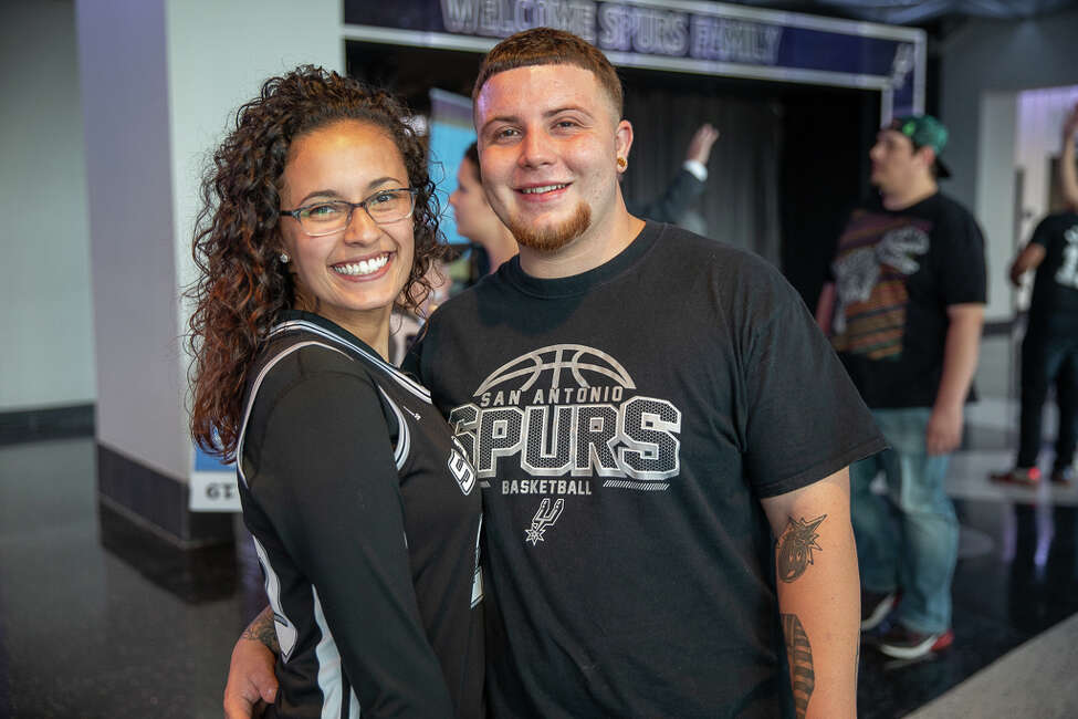 San Antonio Spurs fans watched the team's 123-114 preseason loss to Zion Williamson and the New Orleans Pelicans on Sunday.