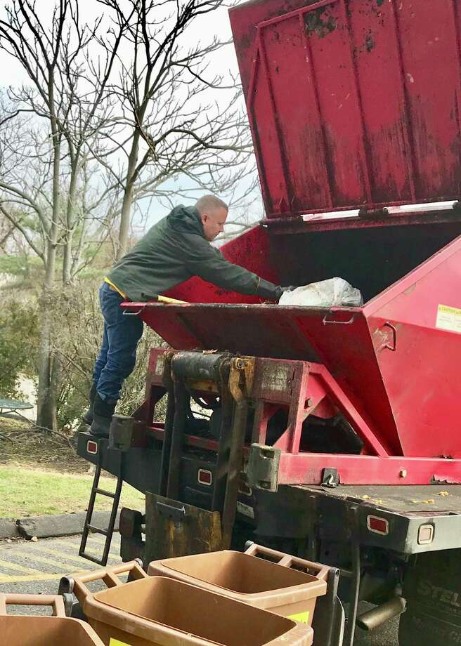 The food scraps are picked up by Curbside Compost and transported to a commercial composting facility where they are recycled into nutrient-rich compost. Photo: Contributed Photo / Connecticut Post