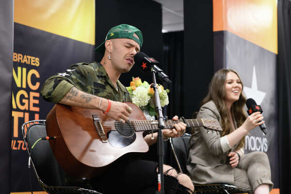 Jesse & Joy at Memorial City Mall to close out Hispanic Heritage Month on Sunday, October 13, 2019.