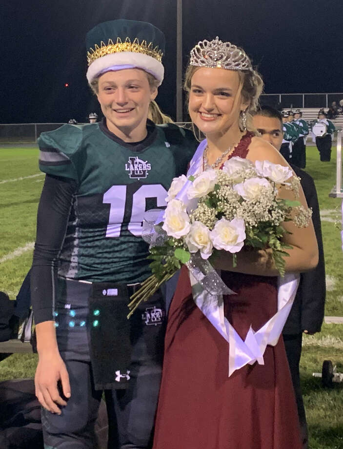 The 2019 Laker Homecoming King and Queen are Bryce Sears and Emma Irion. Bryce is the son of Craig and Tina Sears. Emma is the daughter of Lonnie and Susie Irion. Photo: Courtesy Photo