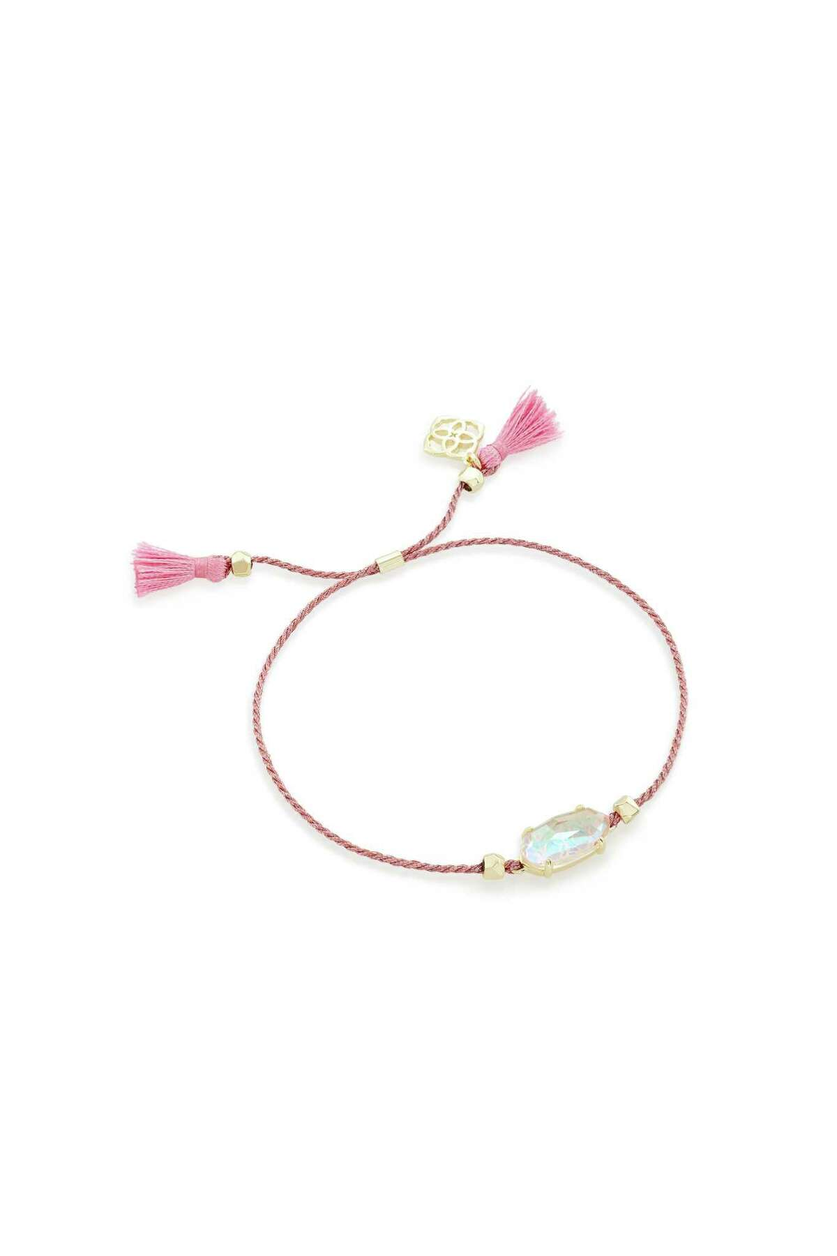 Kendra Scott Everlyne Friendship Bracelet: During October, Kendra Scott donates 20 percent of sales of BCA-minded jewelry to the Breast Cancer Research Foundation; $38 at Kendra Scott stores and kendrascott.com.