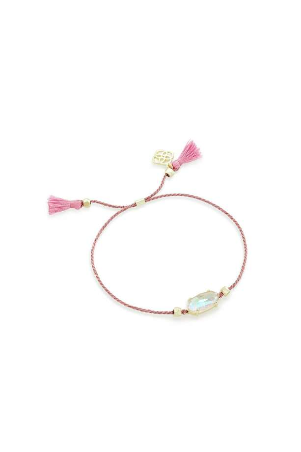 Kendra Scott Everlyne Friendship Bracelet: During October, Kendra Scott donates 20 percent of sales of BCA-minded jewelry to the Breast Cancer Research Foundation; $38 at Kendra Scott stores and kendrascott.com. Photo: Kendra Scott / Kendra Scott
