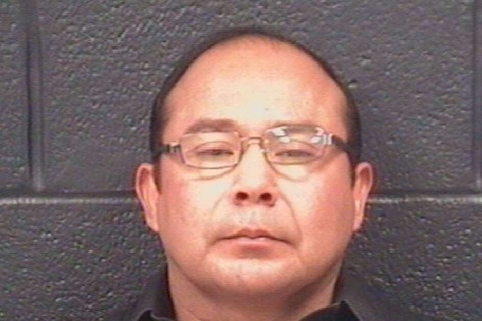 Donato Cantu, 43, was served with a warrant that charged him with prostitution.