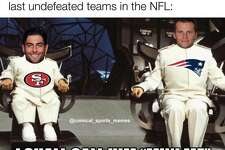 San Francisco 49ers fans celebrated their team's 5-0 start and victory over the Los Angeles Rams.