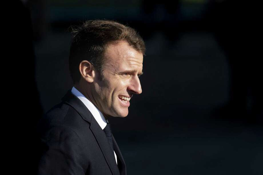 French President Emmanuel Macron in Albert, France, on Nov. 9, 2018. Photo: Bloomberg Photo By Jasper Juinen. / © 2018 Bloomberg Finance LP