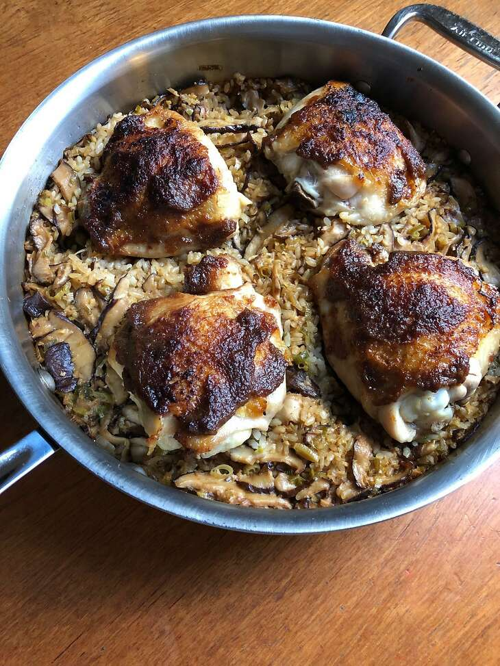 One-Pot Miso Chicken and Rice