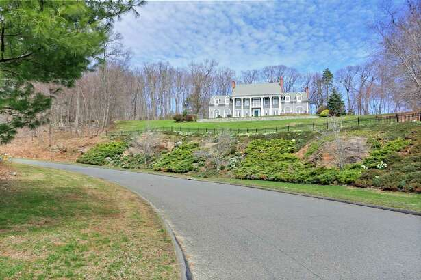 The house sits high atop a hill in Lower Easton with stunning views.