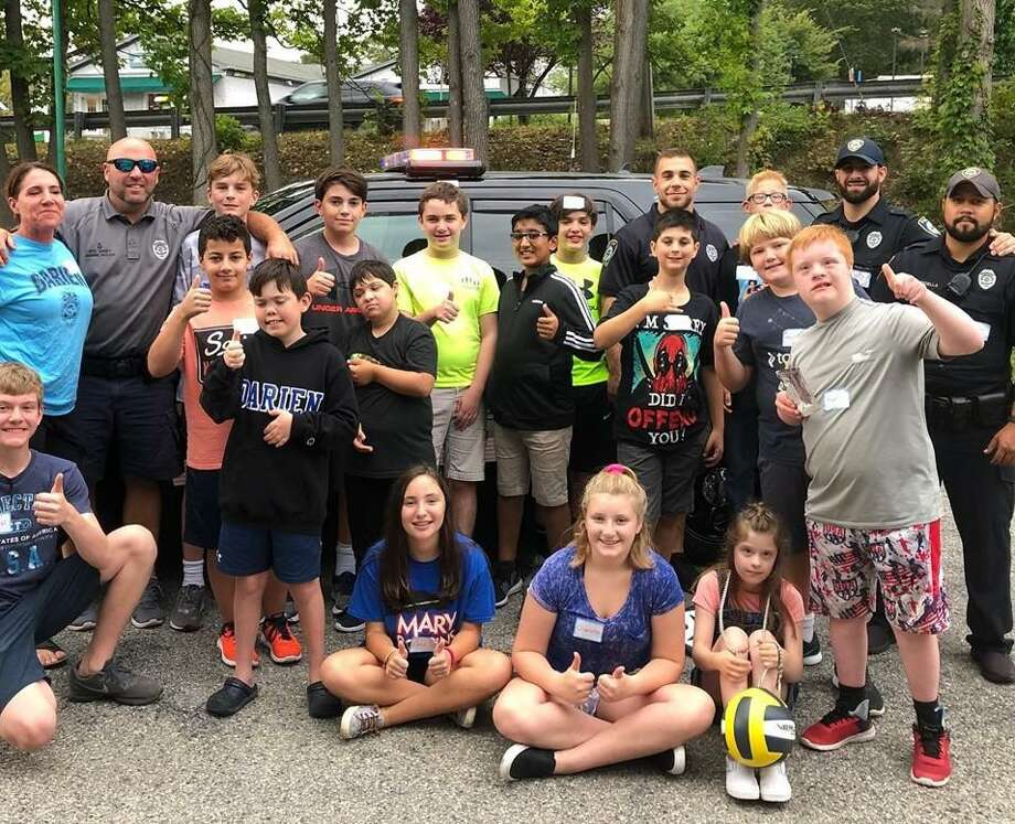 Cops and Kids Adventures with Darien Police Department Photo: The Depot