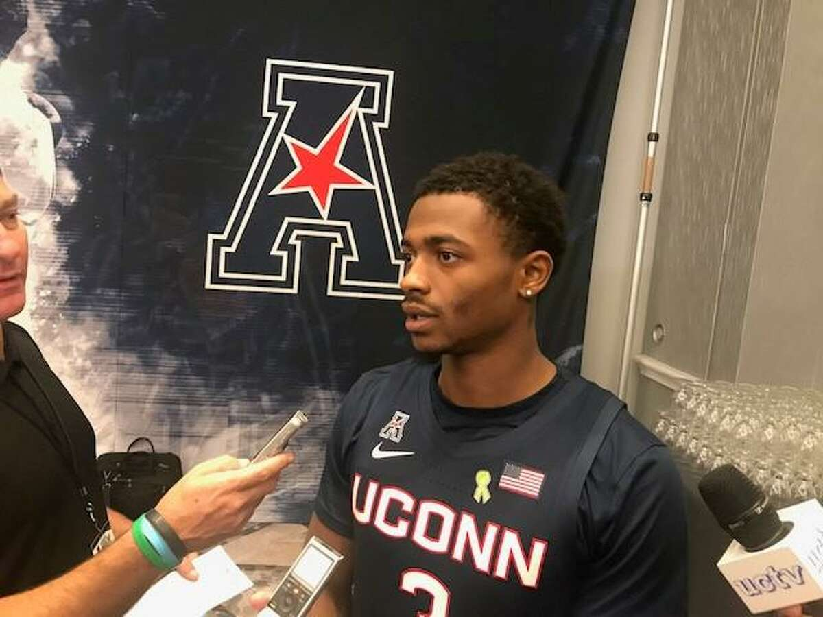 UConn junior Alterique Gilbert was selected to the AAC preseason second team by the league's coaches on Monday.