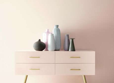 Benjamin Moore has named First Light, a pale pink-beige, as its 2020 Color of the Year.