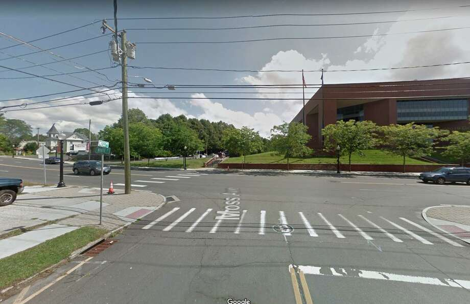 Moss Avenue and White Street intersection in Danbury, Conn. Photo: Google Maps / Google